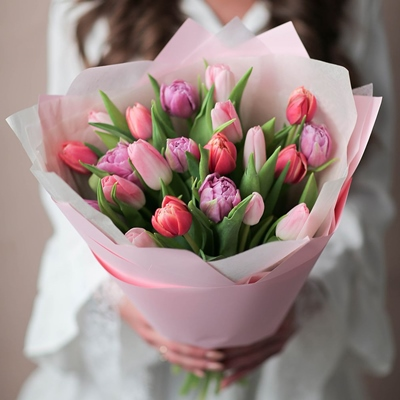 Tulips delivery for Moscow