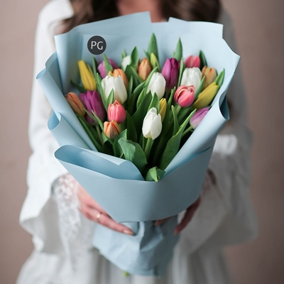 Tulip delivery Moscow Russia