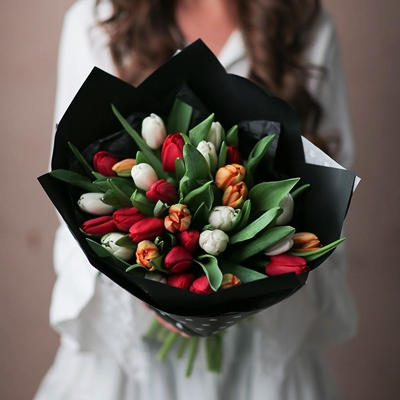 Tulip delivery in Moscow Russia
