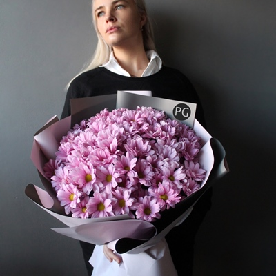 Chrysanthemum delivery in Moscow