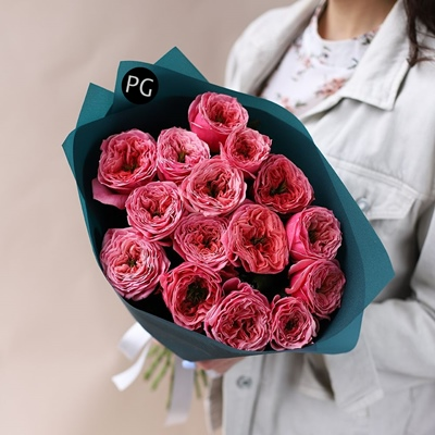 Peony rose delivery Russia