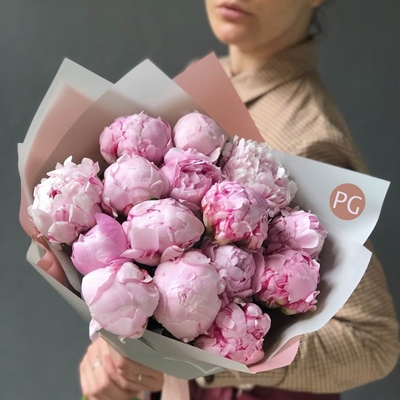 Peony rose delivery to Moscow