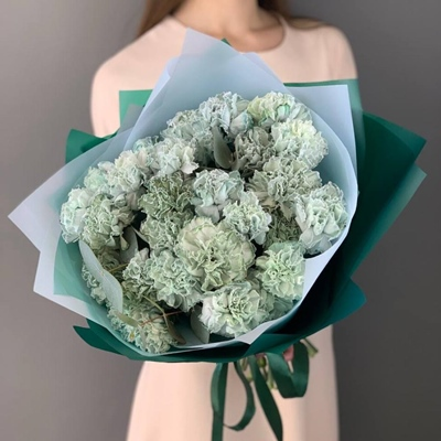 Flower bouquet for Moscow Russia