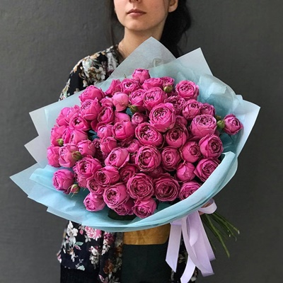 Peony rose delivery for Moscow