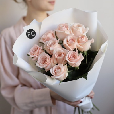 Bouquet of roses for Russia Moscow