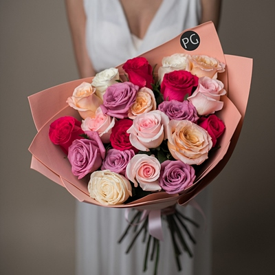 Bouquet of roses Russia
