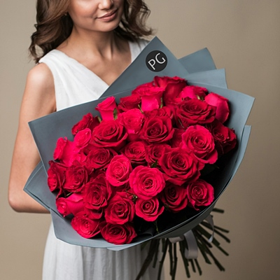 Bouquet of roses Russia Moscow